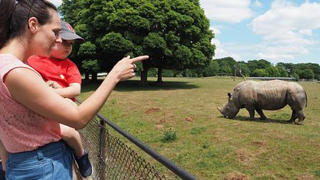 ZSL Whipsnade Zoo recently reopened to visitors