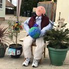 Sir David Attenborough was one of the figures created for the Debden Inspires Trail