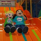 Twizzle and Twirl are the mascots of 360 Play at Stevenage Leisure Park