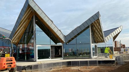 Stunning design of the new beachside cafe at Felixstowe is revealed
