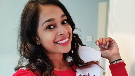 Shereen Sally, finalist in the Ms Great Britain 2021 competition