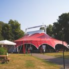 Norwich Theatre's Interlude is back for 2021 in a new location, pictured in 2020 in Chapelfield Gardens.
