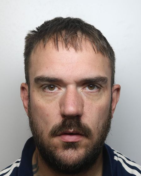 Andrew Bluck has been jailed for his part in robberies in Buckden and Eaton Socon.