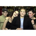 Friends getting together at Splitz Bar in Felixstowe in 2002