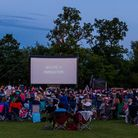 A previous Luna Cinema screening at Highfield Park in St Albans