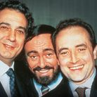 The Three Tenors Plácido Domingo, Luciano Pavarotti and José Carreras.