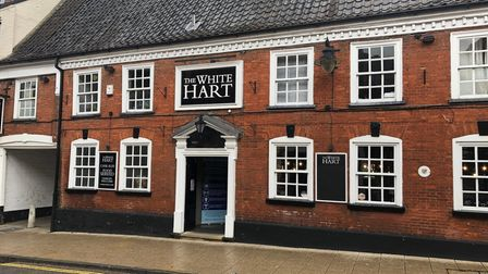 The White Hart pub in Market Street, Wymondham, added a Post Office counter last year.