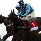 Best Mate ridden by Jim Culloty in the 2003 Peterborough Steeple Chase at Huntingdon