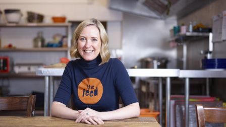 Lucy Parish, chief executive officer of The Feed in Norwich