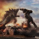Godzilla battles Kong inWarner Bros. Pictures' and Legendary Pictures' action adventure Godzilla vs Kong.