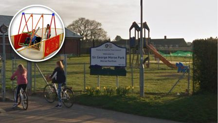 Thorpe St Andrew Town Council is looking to purchase a wheelchair swing for Sir George Morse Park
