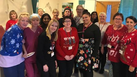 The nurses from Bourn Hall who care tirelessly for others.