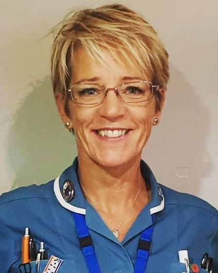 """Lisa Thorpeis the """"most selflessdistrict nurse ever"""", says daughter Charmain."""
