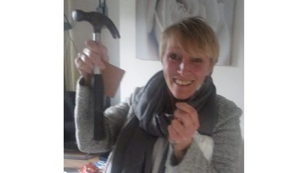 Not only is Nikki Jayne a fantastic nurse - but a dab hand at DIY too!