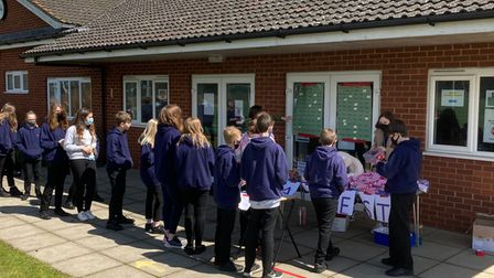 The Taverham High School RAG week in full flow to raise funds for Parkinson's UK