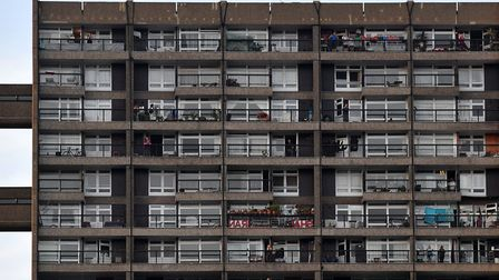 Residents of Trellick tower continue to battle with the novel coronavirus pandemic in west London on