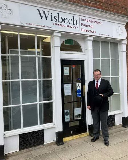 James Mooney-Dutton (above) who with his wife Laurahave brought their expertise and empathy to Wisbech.