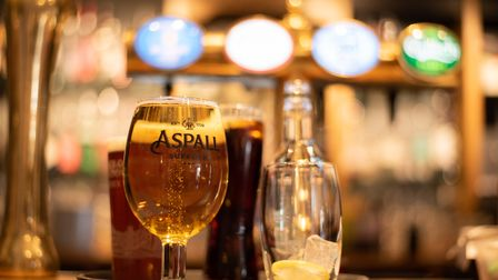Ice cold Aspalls at The Duke of Marlborough. Picture: Sarah Lucy Brown