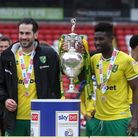 Mario Vrancic and Alex Tettey signed off in style with a Championship trophy on their final Norwich City appearances