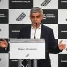 Labour's Sadiq Khan speaks after he was declared as the next Mayor of London at City Hall