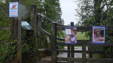 One of the stops on the Royal British Legion 100th birthday trail in Old Catton. Picture: Danielle B