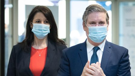 Labour party leader Sir Keir Starmer and Rachel Reeves
