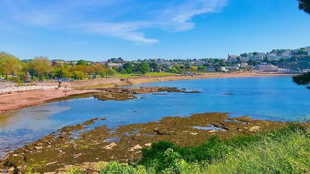 Torquay Seafront on a sunny day