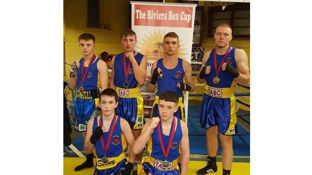 Torbay ABC boxers are now working hard in the gym to try and at least equal 2019's haul of medals.