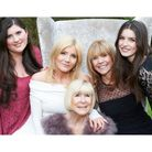 Mary Collins with granddaughter Maia, daughters Michelle and Vicki, and granddaughter charlotte