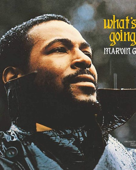 Marvin Gaye's What's Going On album cover