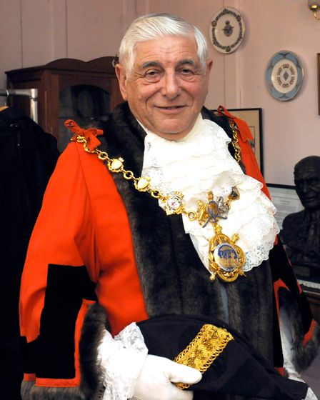Colin Hyams has been elected as the deputy mayor for Godmanchester.