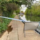 Cordons are in place on the Grand Union Canal where a baby's body was found