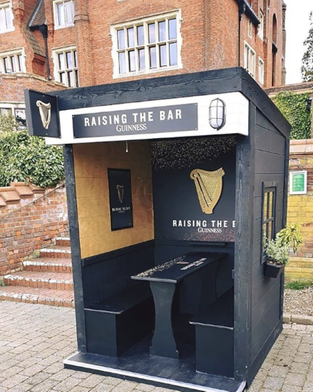 Guinness pod at Norwich