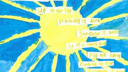 Sylvia's winning entry for the Book of Happiness.