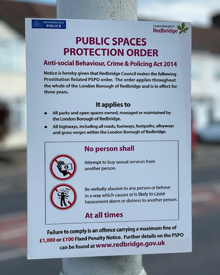 The PSPO applies across the entire borough and first started in August 2018.