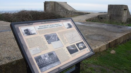 The Second World War gun emplacements at Mundesley