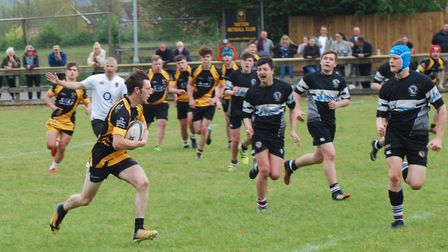 Yatton Colts in action against Winscombe