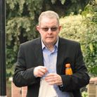 Hampstead's Dennis McNulty arrives at Isleworth Crown Court