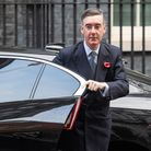 Leader of the House of Commons Jacob Rees Mogg in Downing Street, London, ahead of a Cabinet meeting