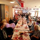 Roebuck Nursing Home threw a VE Day street party to commemorate the occasion
