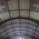 The ceiling in the Murch gallery