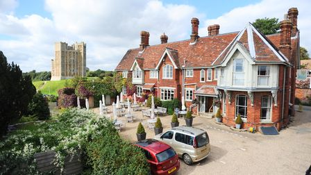 Crown and Castle in Orford.