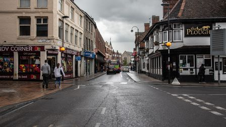 Dogs Head Street in Ipswich, was one of the last places Luke Durbin was seen before he disappeared 1
