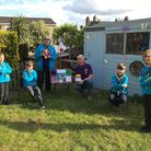 Mark Tredwin and Honiton Scouts