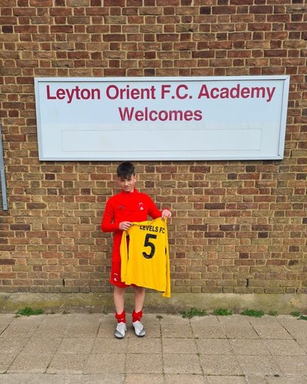 Levels youngster Alex has signed for Leyton Orient