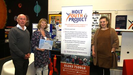 The Holt Youth Project was among the recipients of the Holt Heroes certificates.