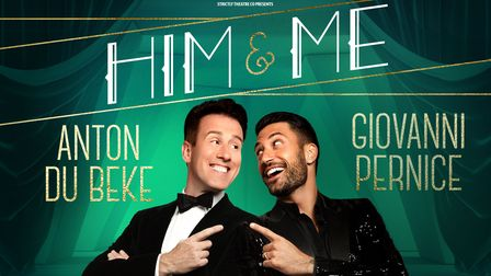 Strictly favourites Anton and Giovanni set for star-studded show in Peterborough and Stevenage.
