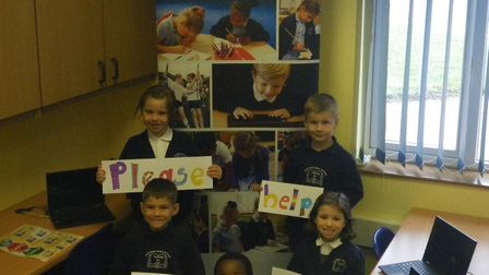 Crosshall Infants School is raising money for new laptops and IT equipment.
