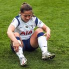 Tottenham Hotspur's Kit Graham in action during the FA Women's Super League match at The Hive Stadiu