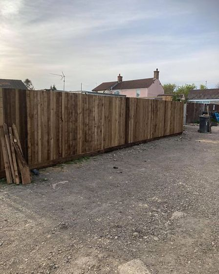 New fence at WJM Dogs in Outwell has helped contain the noise